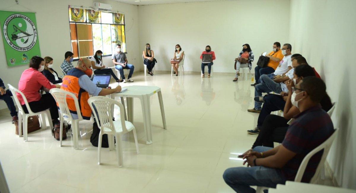 COMBATE À COVID-19   Plano de Contingência de Sepultamentos é apresentado aos municípios de Roraima