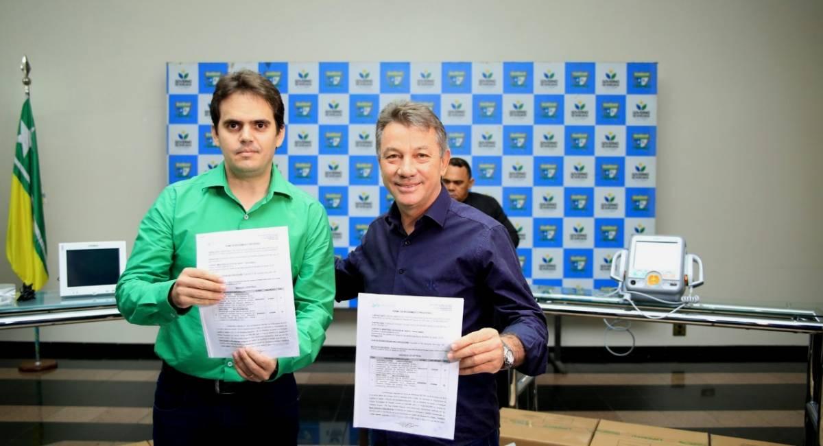 REFORÇO NA SAÚDE   Roraima recebe oficialmente equipamentos do Ministério da Saúde