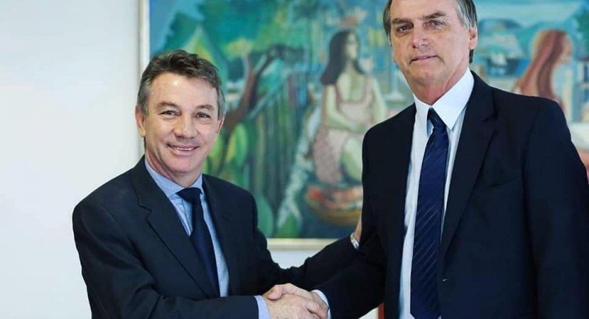 Denarium se reúne com Bolsonaro, em Brasília