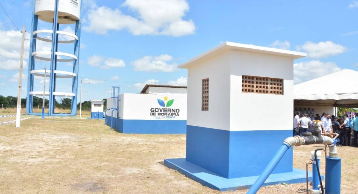 INFRAESTRUTURA URBANA   Governo de Roraima inaugura revitalização dos sistemas de água e de esgotos em Bonfim