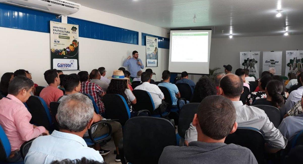 EM RORAINÓPOLIS | Fruticultura é tema de seminário para agricultores e técnicos do sul do Estado