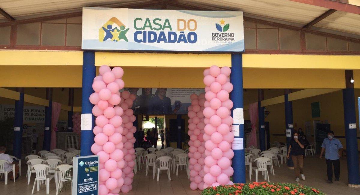 NA CASA DO CIDADÃO   Mais de 180 pessoas realizam teste rápido para COVID-19
