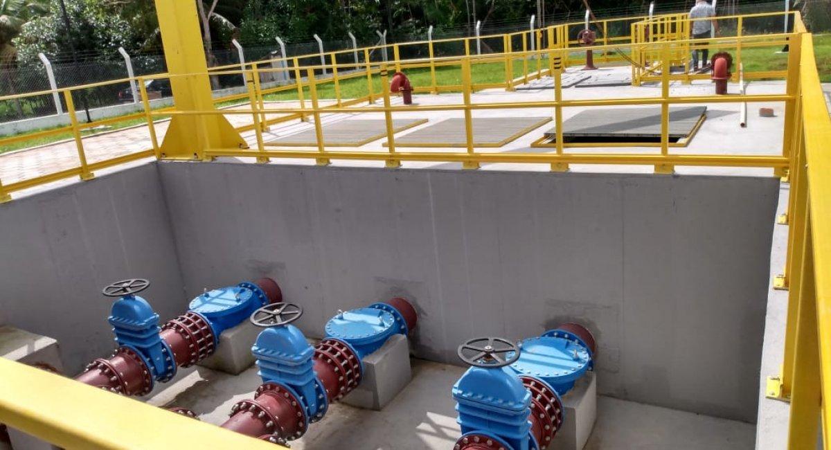 AVANÇO  Quarta etapa das obras de saneamento básico atenderá mais de 100 mil pessoas
