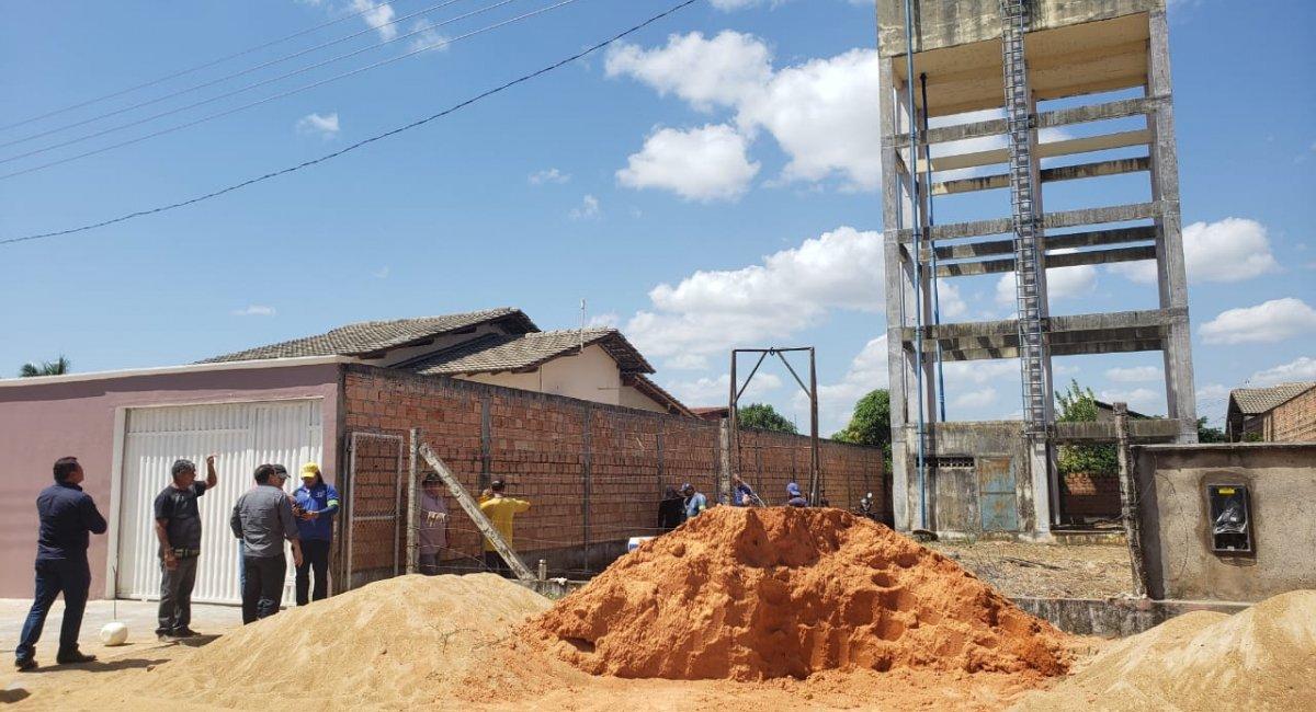 MACUNAIMA E AUARIS | Em fase de testes, o sistema de abastecimento de água foi revitalizado para garantir o fornecimento aos condomínios
