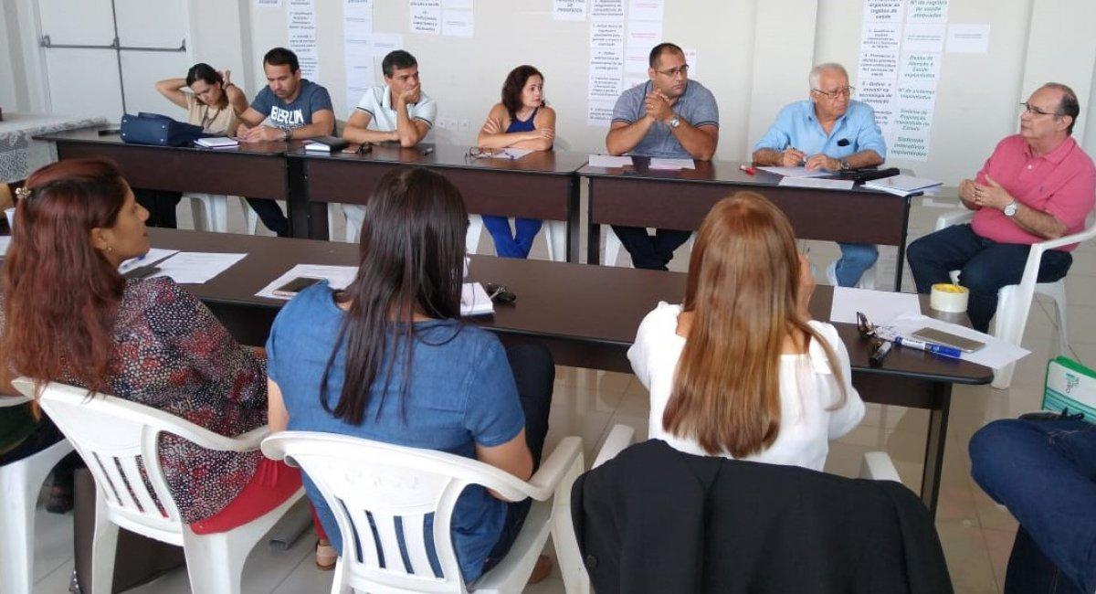 Equipes da Sesau se reúnem e traçam metas e planos de ação para a saúde de Roraima