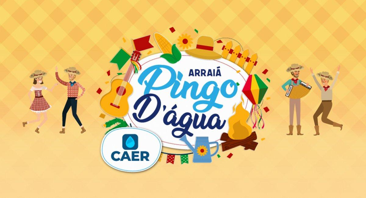 FESTA JUNINA   Caer organiza últimos preparativos para o Arraial Pingo D´Água