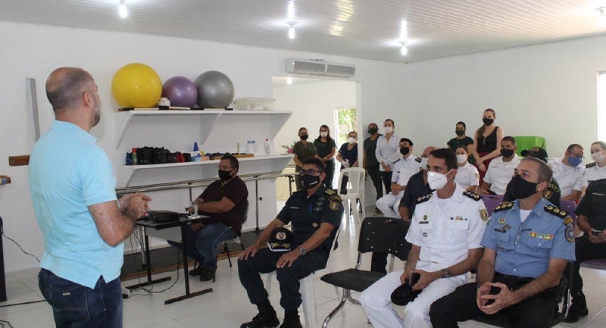 PARCERIA NA SAÚDE   União entre Sesau e PMRR fortalece ações de saúde para militares