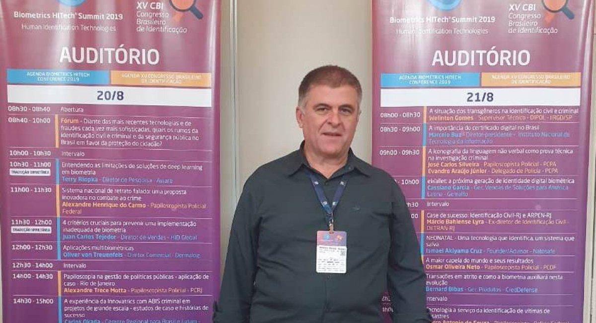 Roraima tem representante em congresso brasileiro de identificação