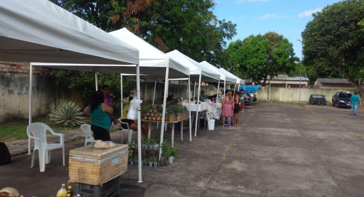 REFORÇO NA ECONOMIA   Seapa e Casa do Cidadão inauguram nova feira livre