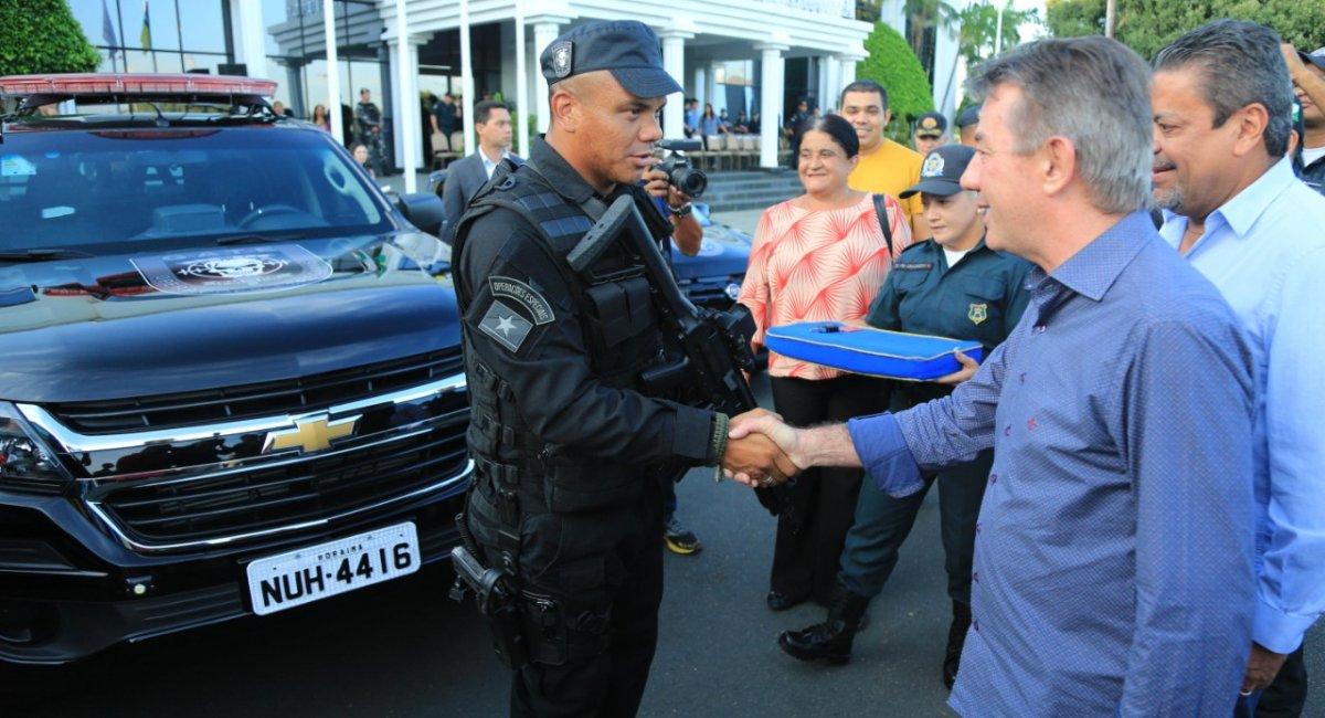 POLÍCIA MILITAR   Governo reforça policiamento com entrega de três novas viaturas