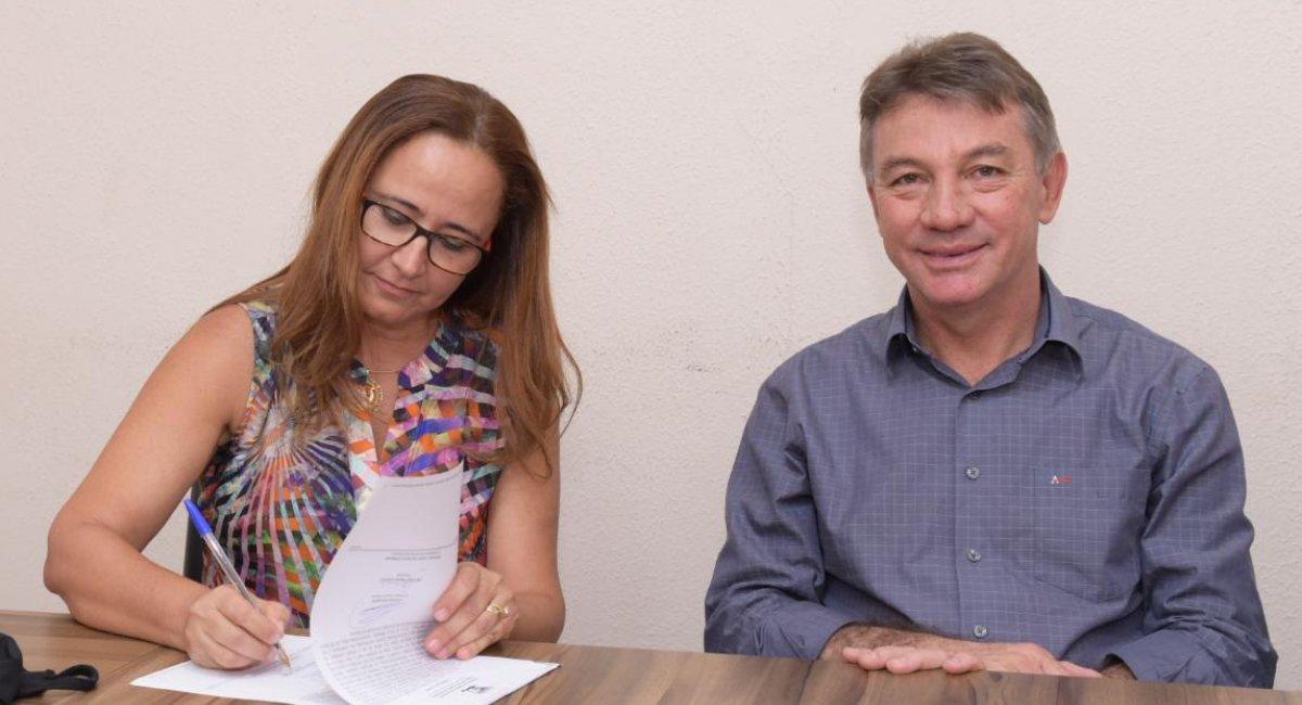 NOVA GESTÃO   Toma posse nova titular da Secretaria de Gestão Estratégica e Administração