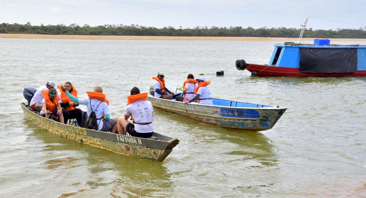 LIMPEZA DOS RIOS   21ª edição do Caer nos Rios acontece domingo no rio Branco