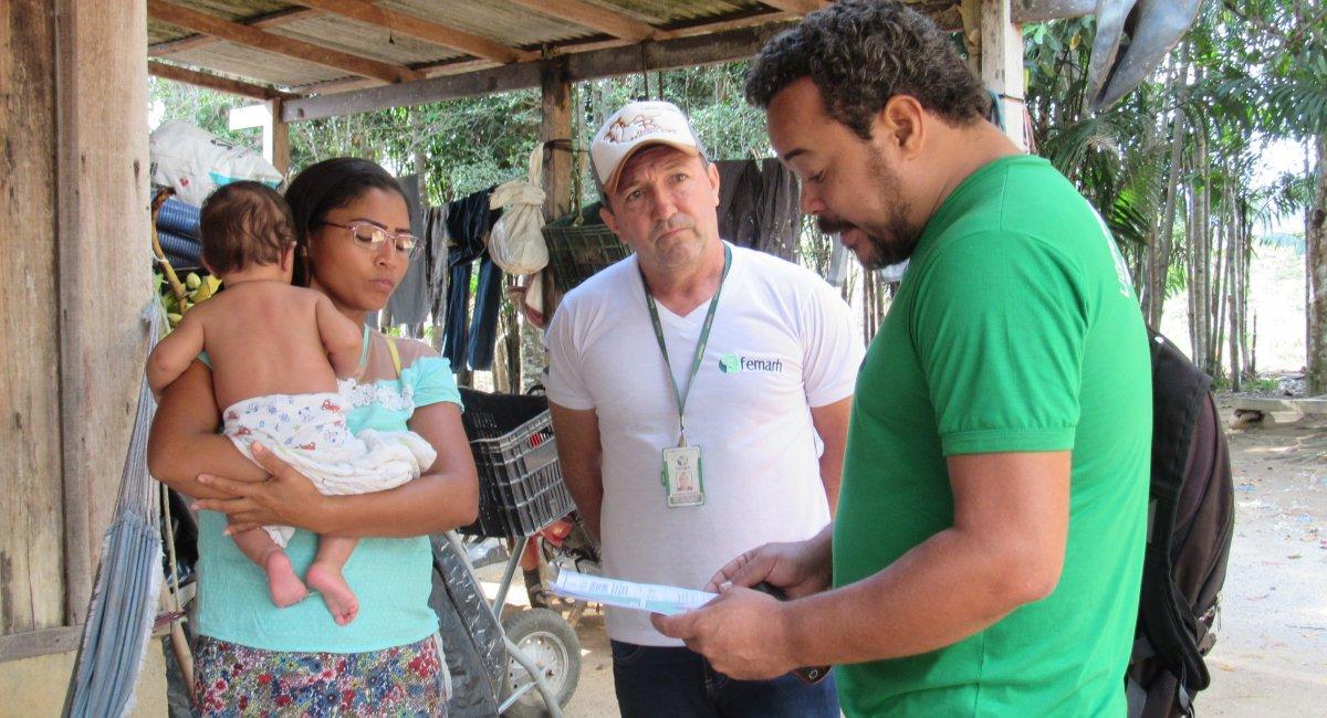 Femarh realiza vistoria para emissão de licenciamento ambiental