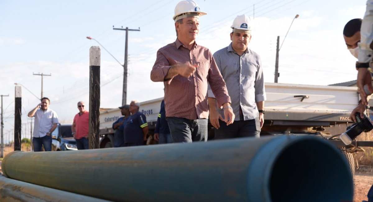MELHORIA NO FORNECIMENTO   Sistema operacional da caixa d'água do Cidade Satélite entra em fase de testes