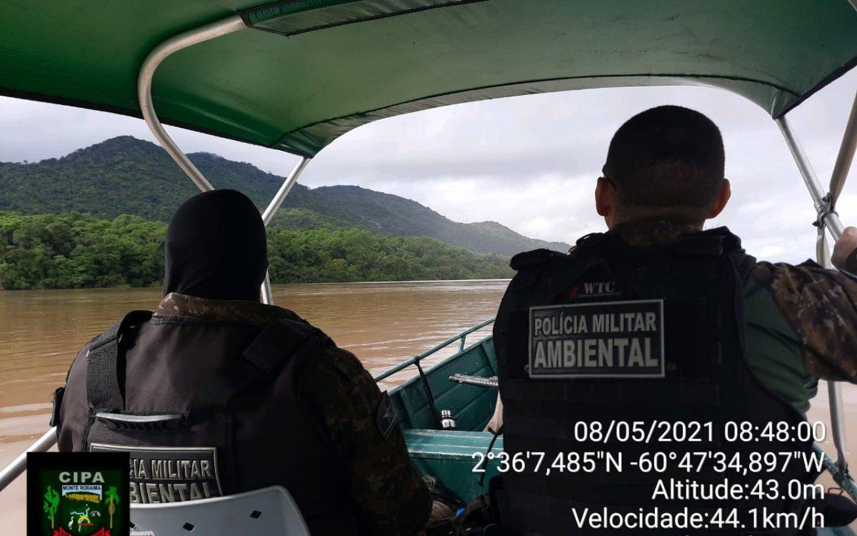 OPERAÇÃO DEFESO II | Cipa realizou no decorrer da semana patrulhamento fluvial no rio Branco