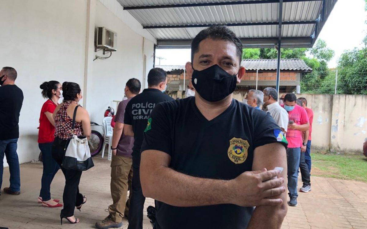 IMUNIZAÇÃO | Policiais civis destacam a emoção de serem vacinados contra a covid-19