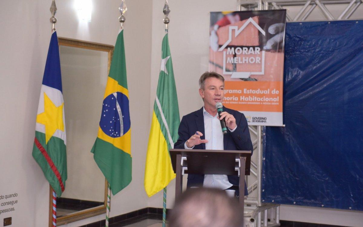 INVESTIMENTO EM MORADIA | Governo lança 'Morar Melhor' para famílias de baixa renda do Estado