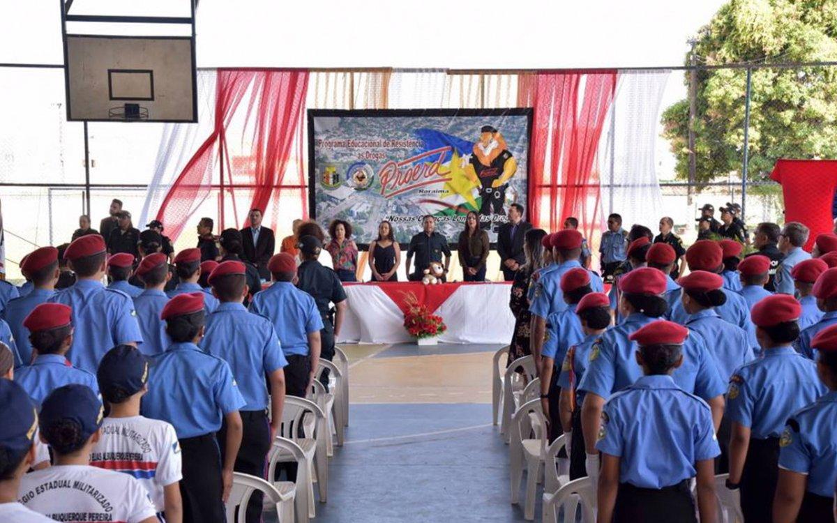 PROERD 2021   Programa Educacional de Resistência às Drogas será retomado nas escolas em formato remoto