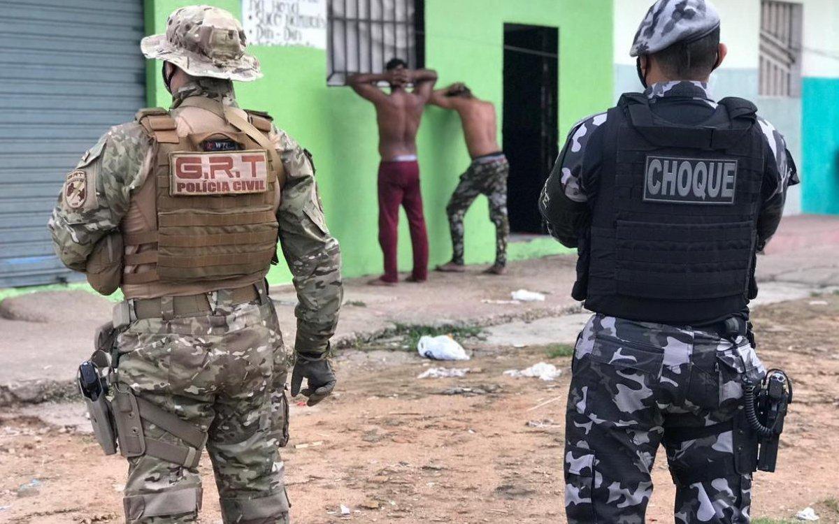 INTEGRAÇÃO   Operação Sicarius percorre três bairros da Capital